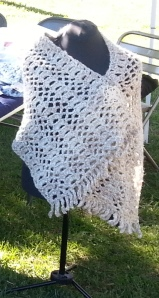 shawl in green ridge