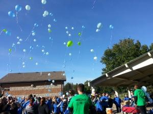 Isaiah's Balloon Release