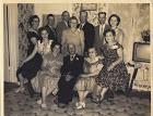 Grandma and Grandpa Hunter and children 1950's