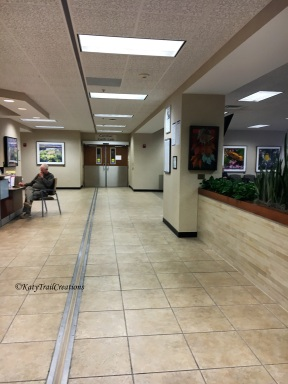 Extremely large waiting room