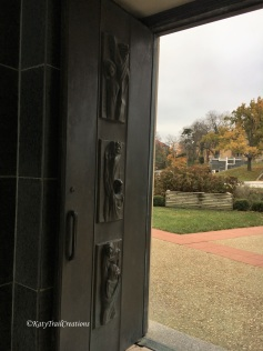 An opposite doorway