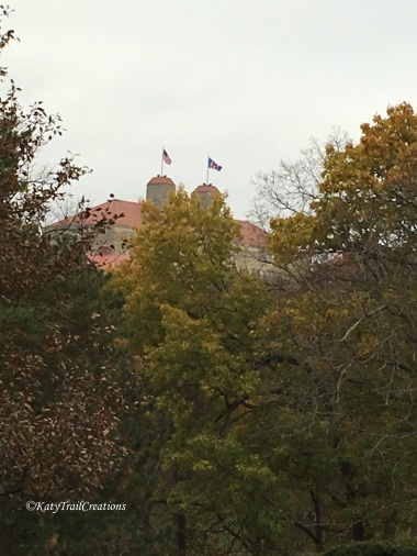 Looking at Fraser Hall. Topmost point of Lawrence Kansas. Aka 'The Hill'.