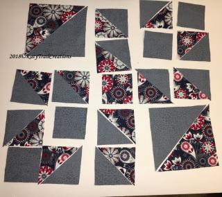 Fabric layout