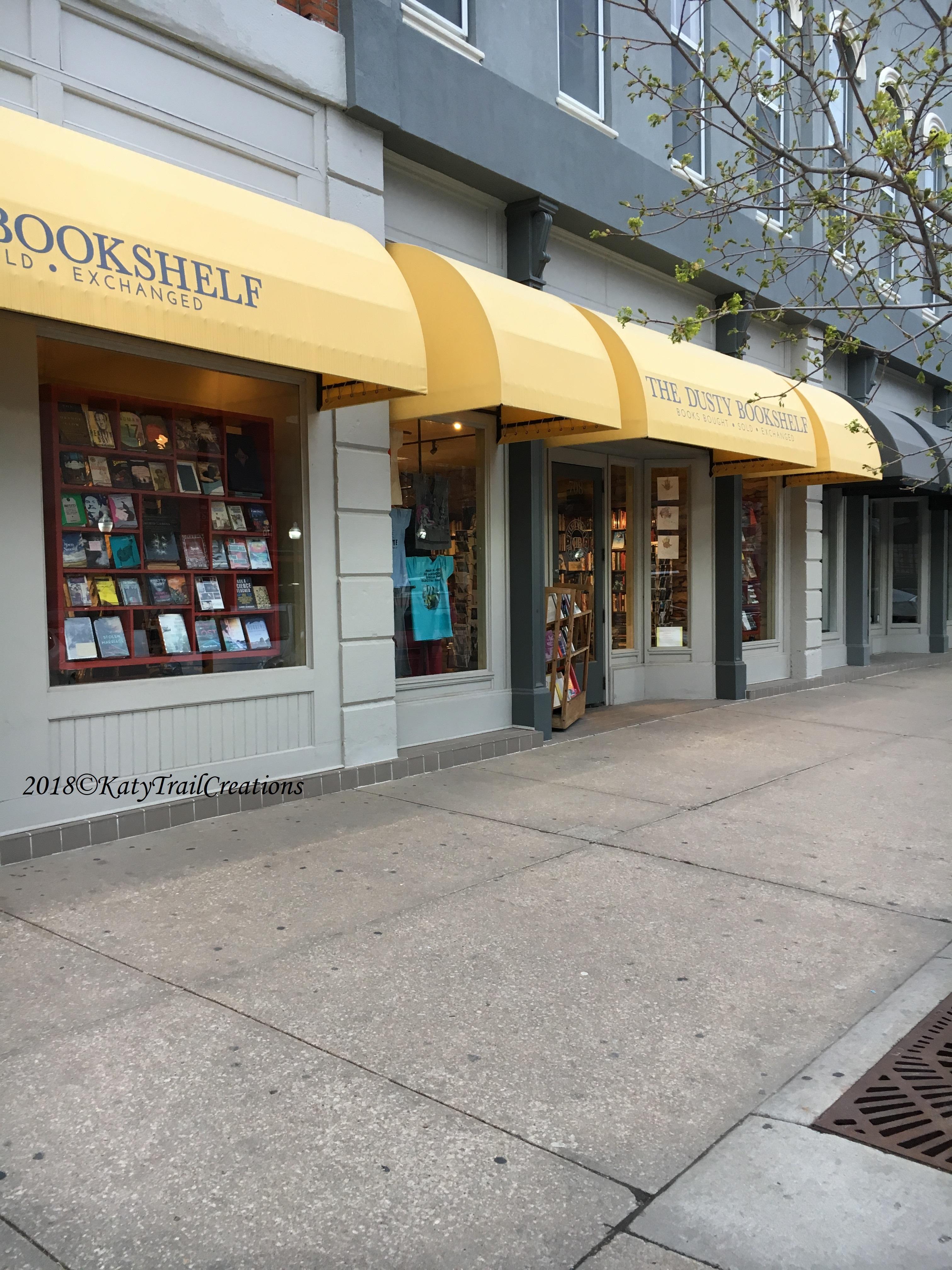 The Dusty Bookshelf Thursday Doors Katy Trail Creations
