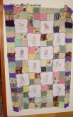 Dogs rag quilt (for Rachel)