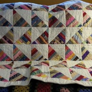 Hopscotch String Quilt