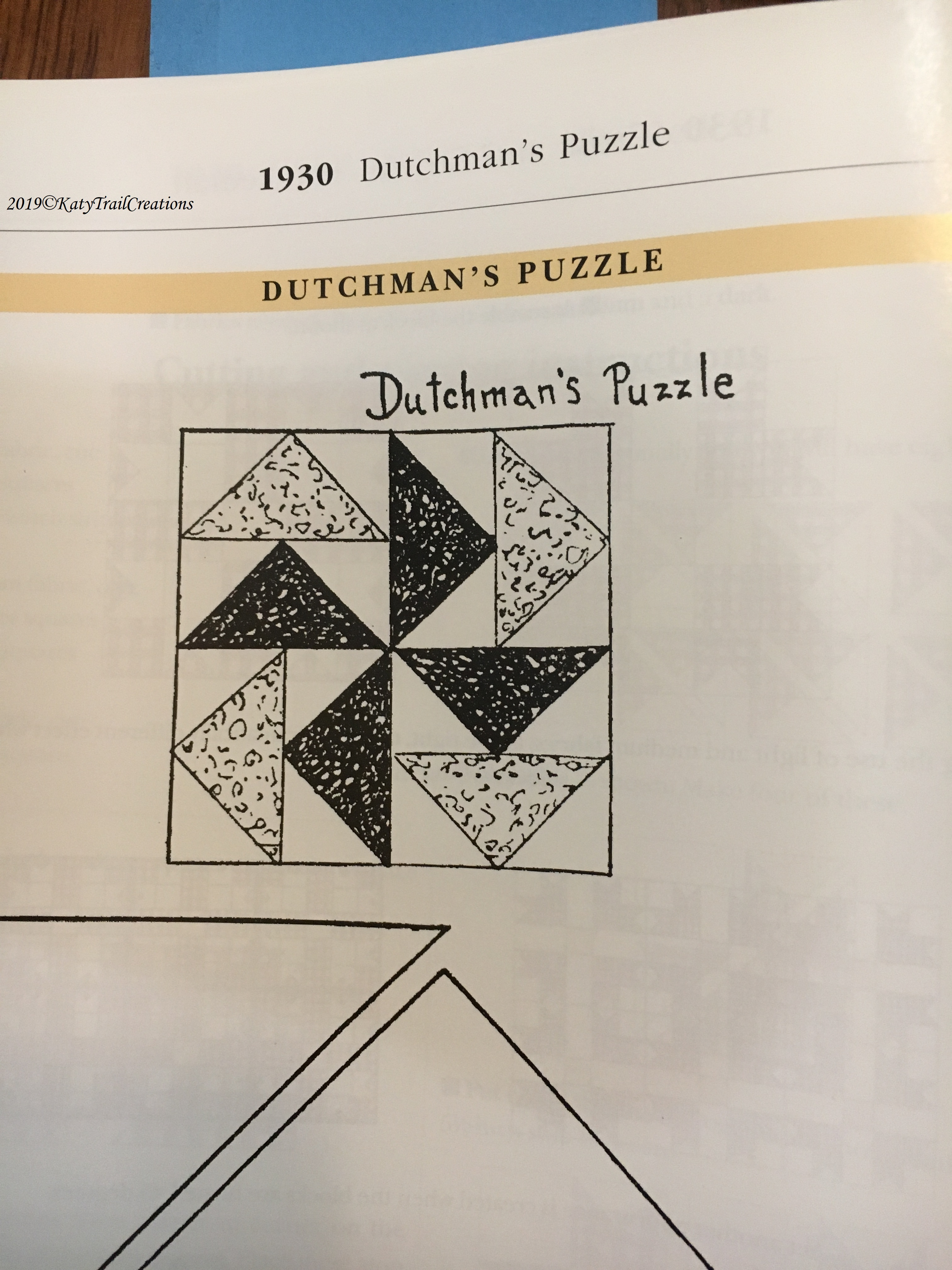 1930 Dutchman's Puzzle from Star Quilts