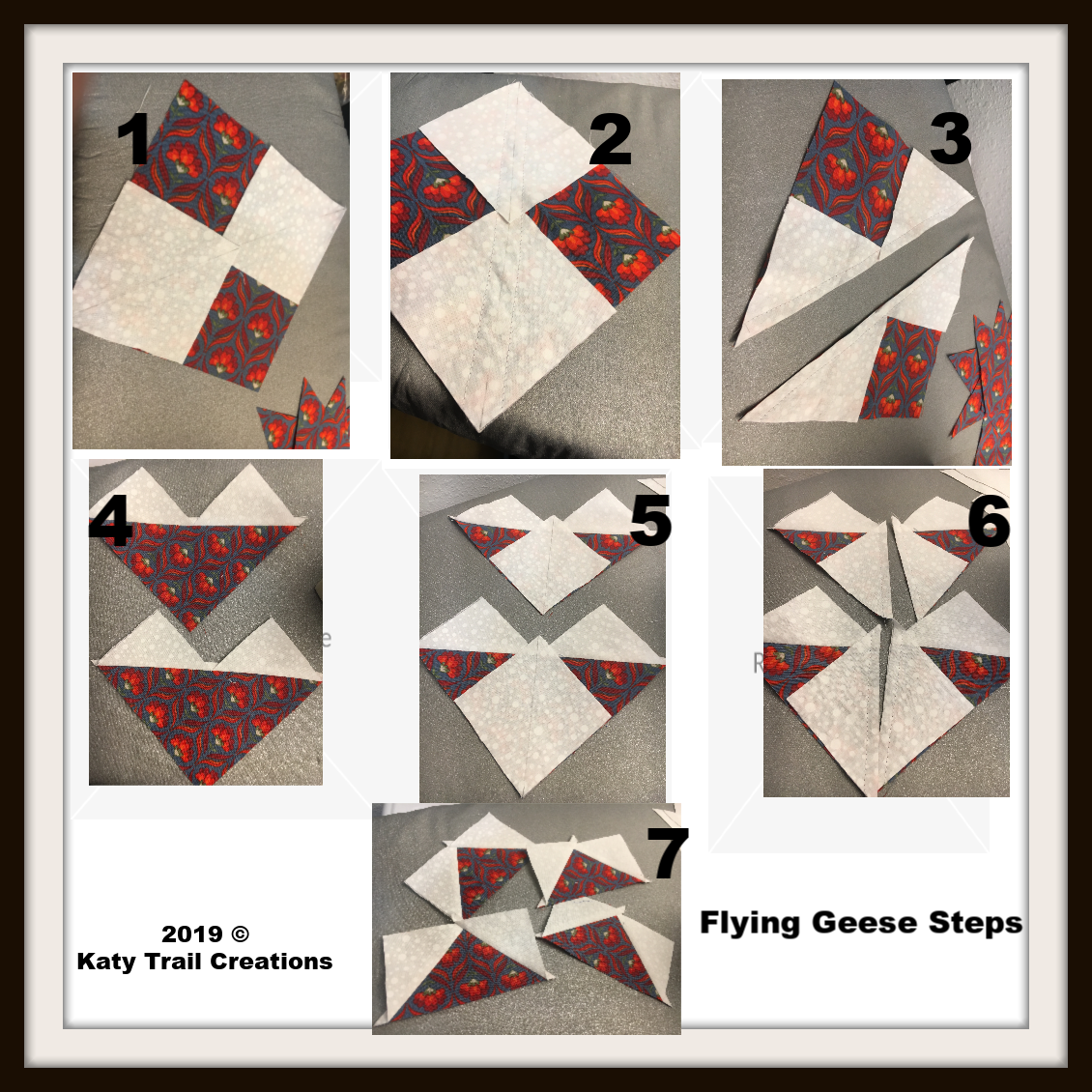 Flying Geese Picture Tutorial
