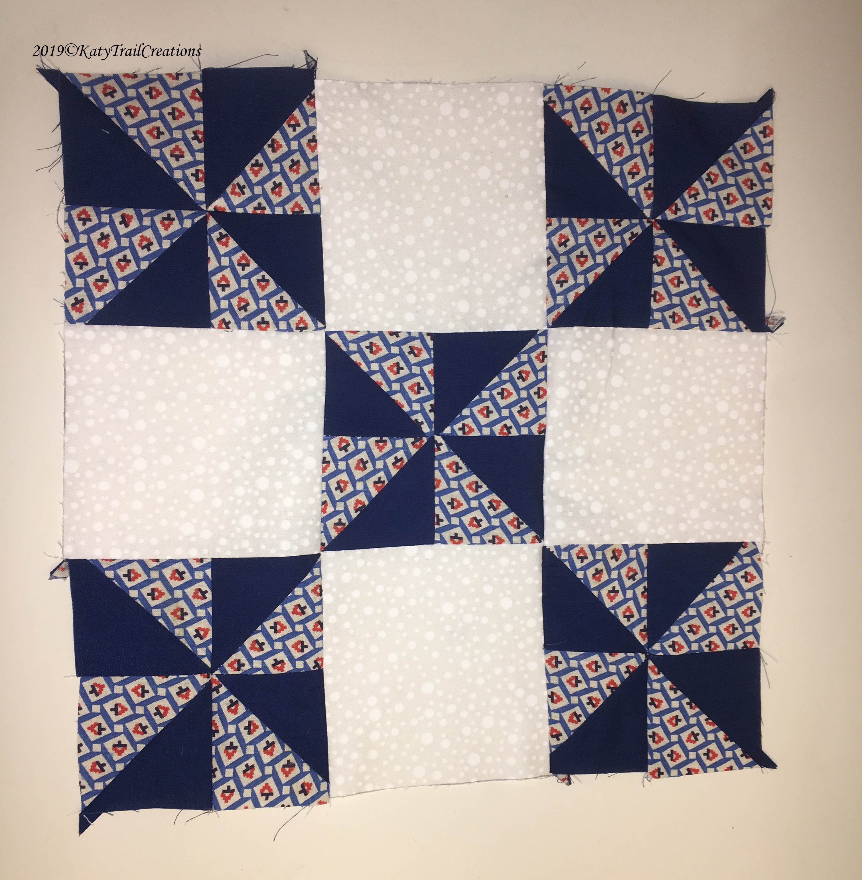 Pinwheels Completed