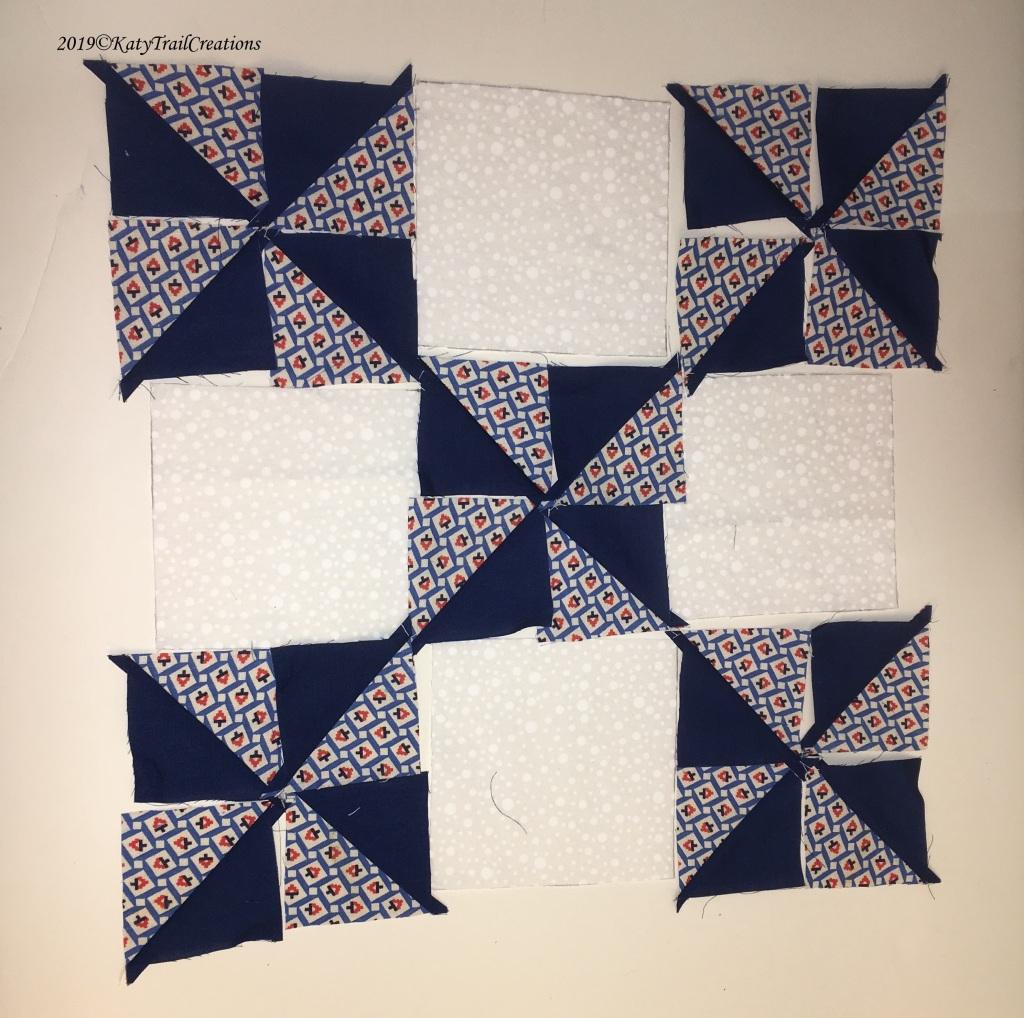 Pinwheels Layout