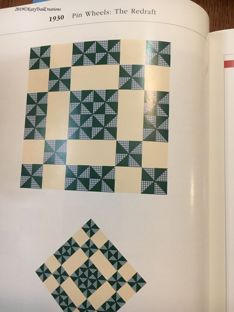 Pinwheels Redraft Options fro Star Quilts