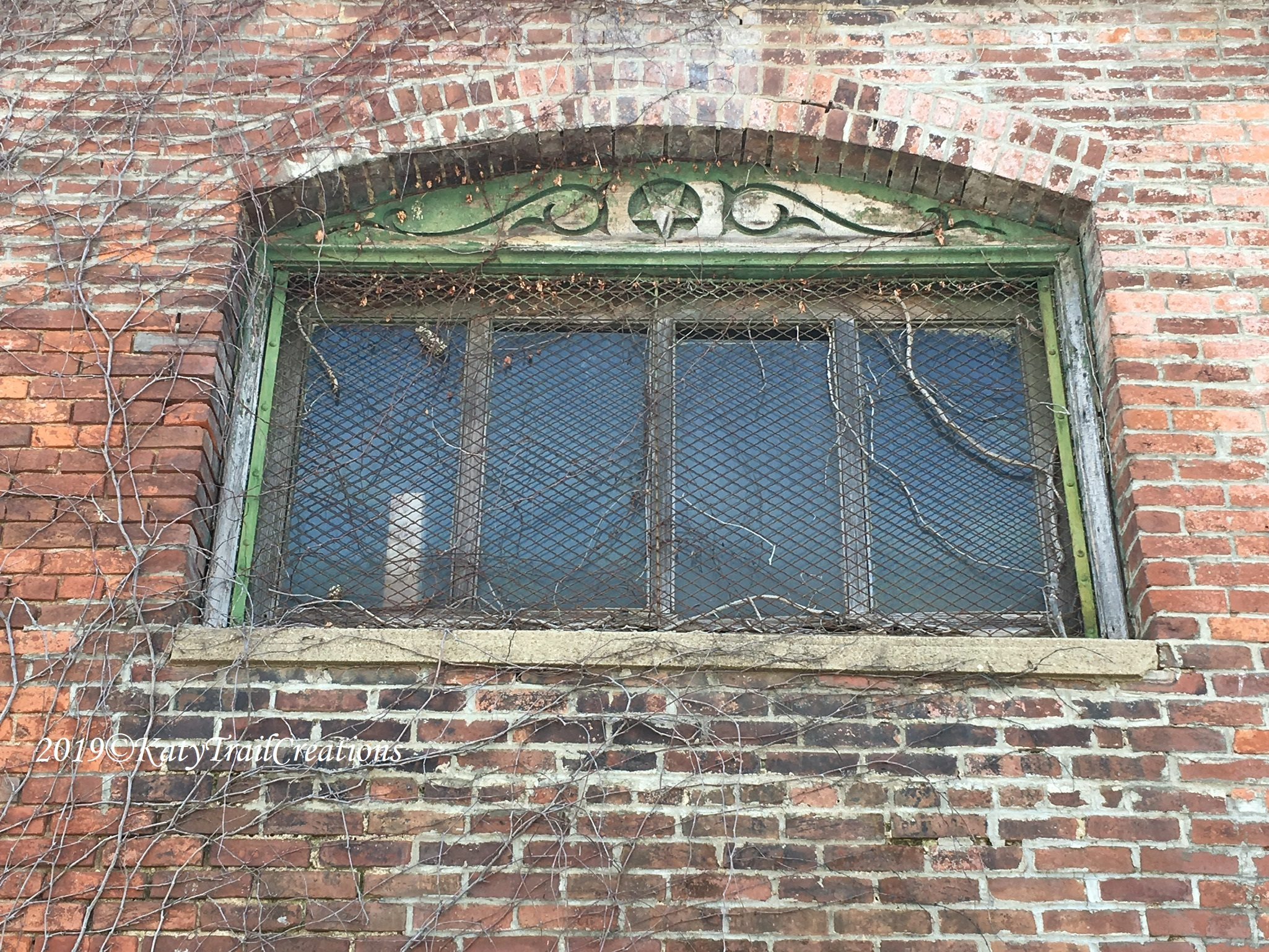 Window with character