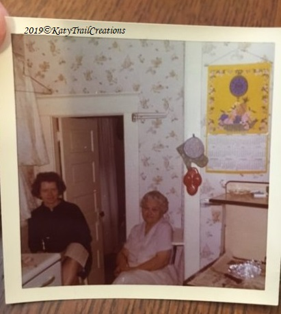 My mother Eileen and Great Grandma Hunter