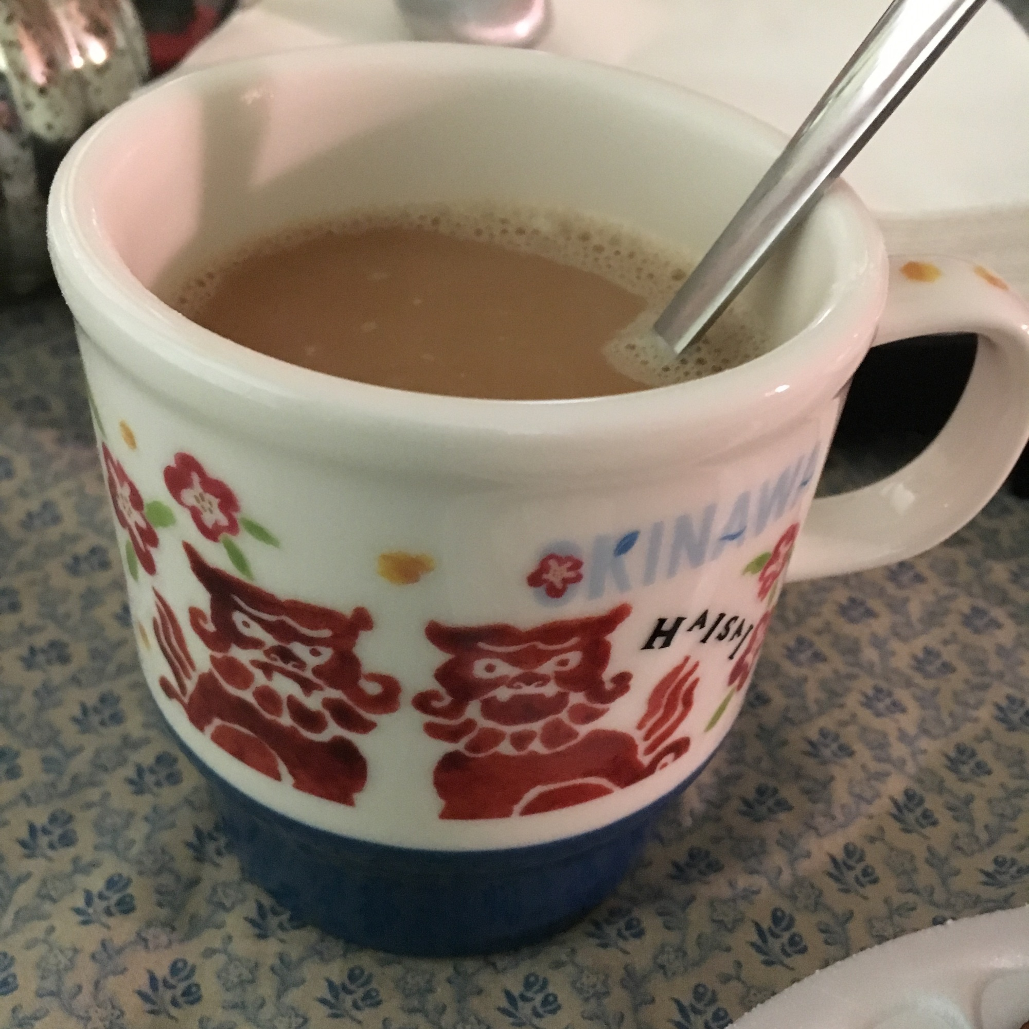 Cup courtesy of family in Okinawa