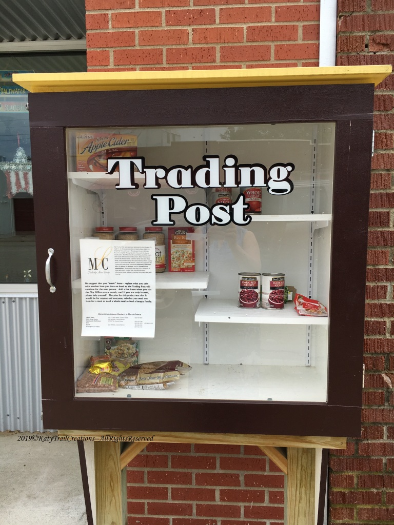 Free or Exchanged food pantry