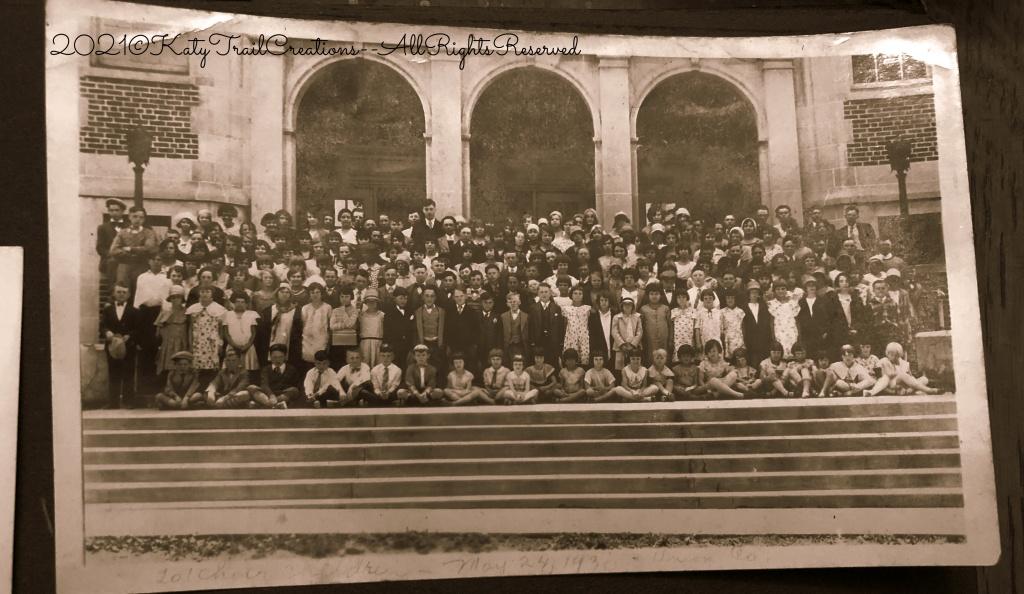 201 Children Choir, May 24, 1930, Union Co. Iowa
